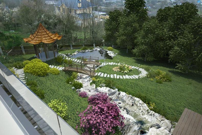 Китайский сад – очень особенное и уникальное направление в ландшафтном дизайне. Основные его черты – максимальная естественность, близость на грани единения с природой. Ведь очень сложно определить, где заканчивается сотворенное природой и начинается созданное человеком.