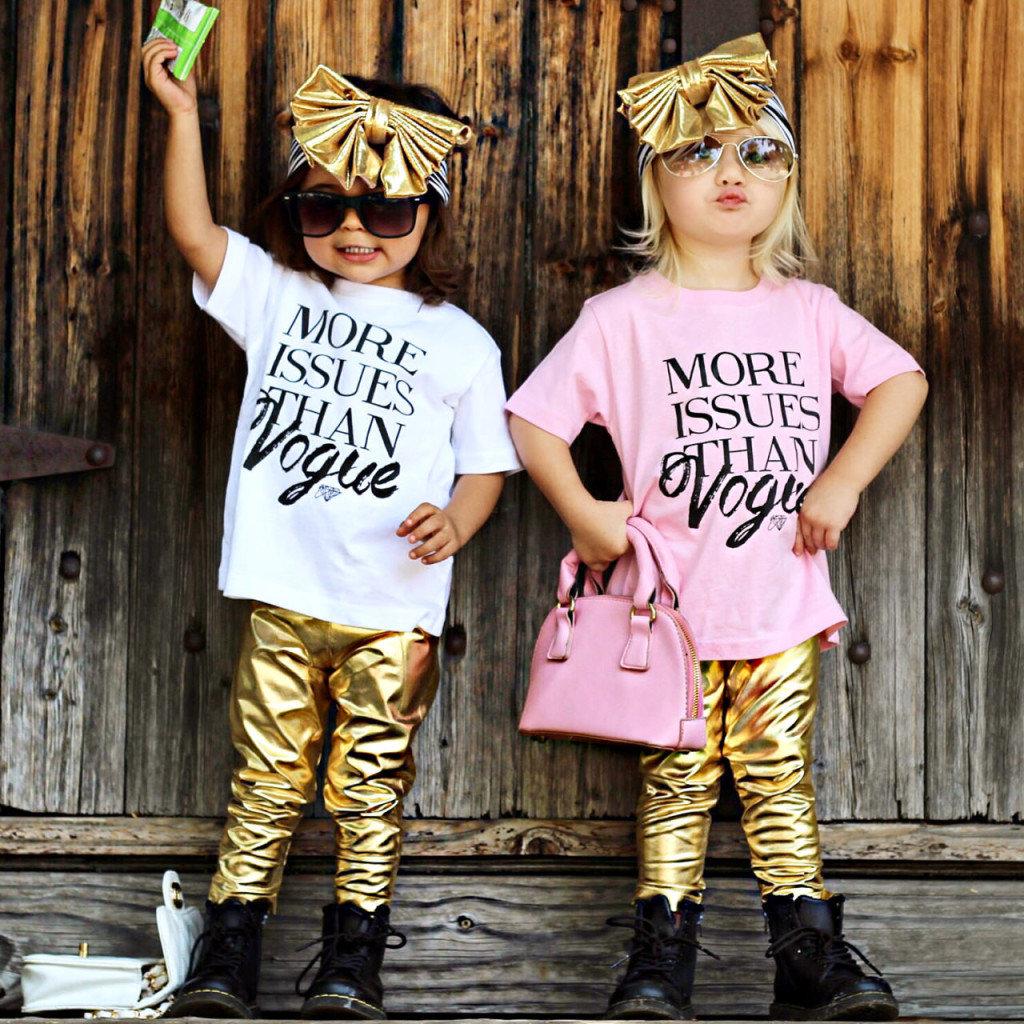 Картинка с надписью модные детки