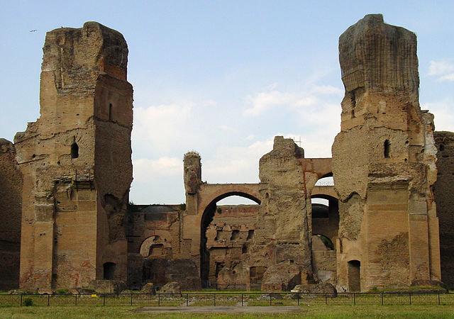 Термы Каркаллы, Рим
