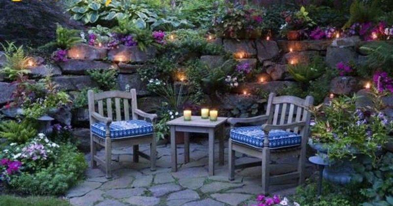 Уютный сад своими руками фото