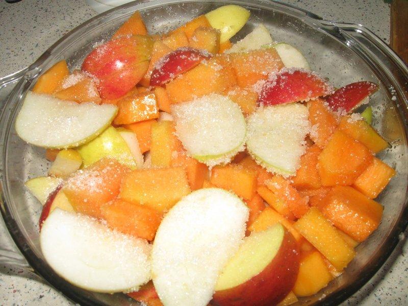 Тушеные яблоки рецепт с фото