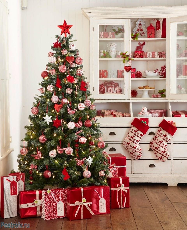 christmas tree decorations - 735×908