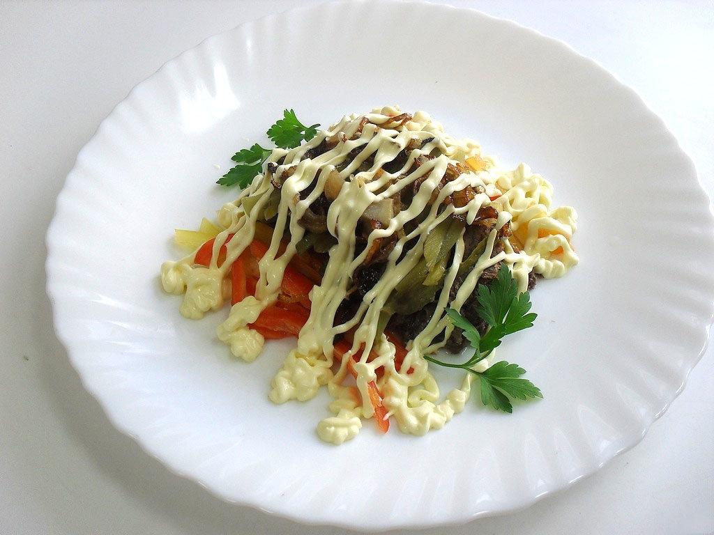 дедушка трахнул салат гусарский рецепт с фото районных газетах будут