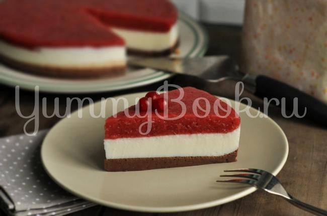 йогуртовый торт с клубникой рецепт с фото