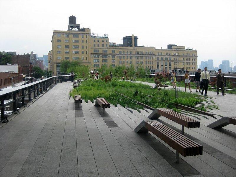 Хай Лайн в Нью-Йорке