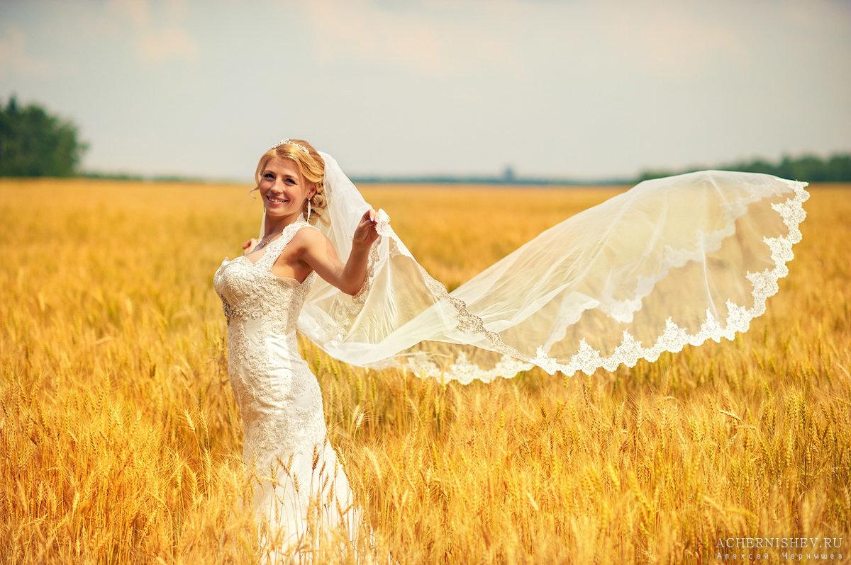невеста на природе - 12