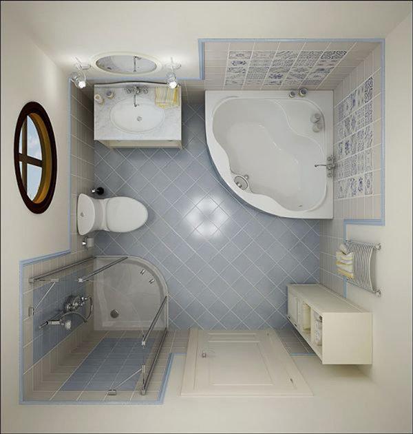 расстановка в туалете