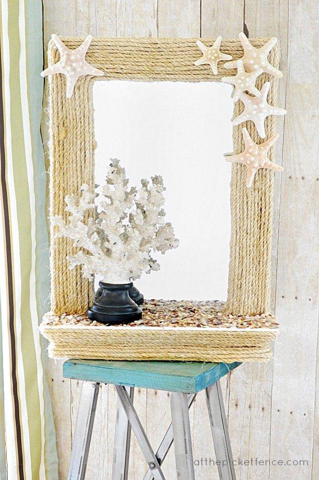 Оформить зеркало своими руками фото Декор зеркала своими руками, Фото дома домашнее, Трехскатные крыши фото