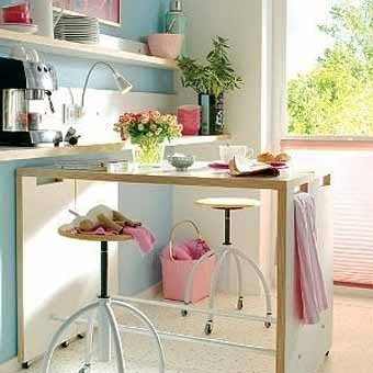 Компактная мебель-трансформер для кухни и спальни 20