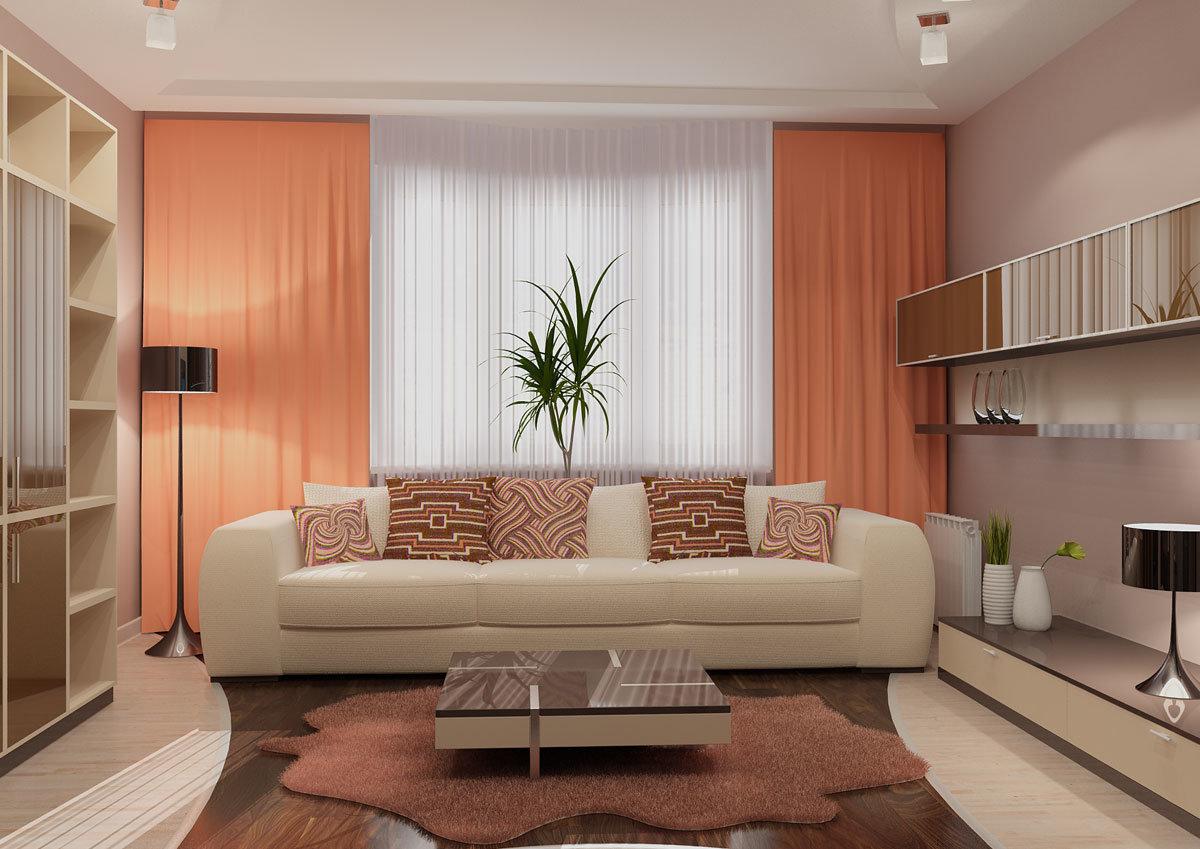 Шторы в квартиру - 122 фото и правила выбора цвета занавесок.