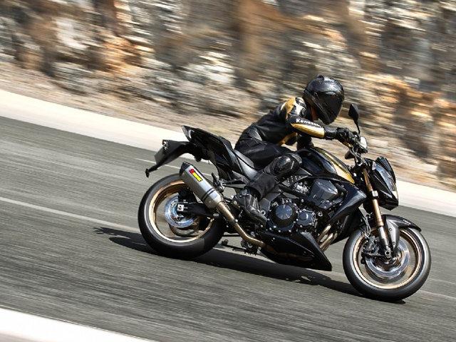Kawasaki Z750R Black Edition 2012