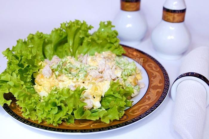 Салат из филе курицы рецепты простые фото
