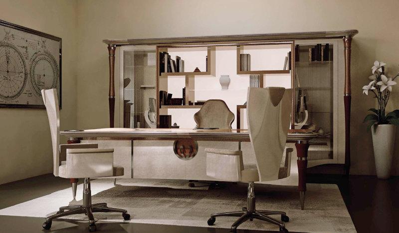 кабинет в стиле арт деко