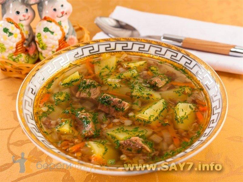 рецепт супа с калориями