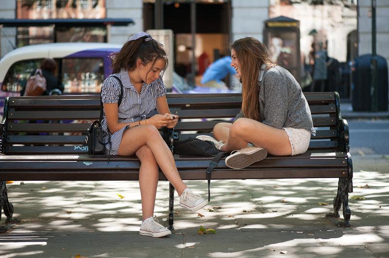 слежка девушек на улицах видео если при
