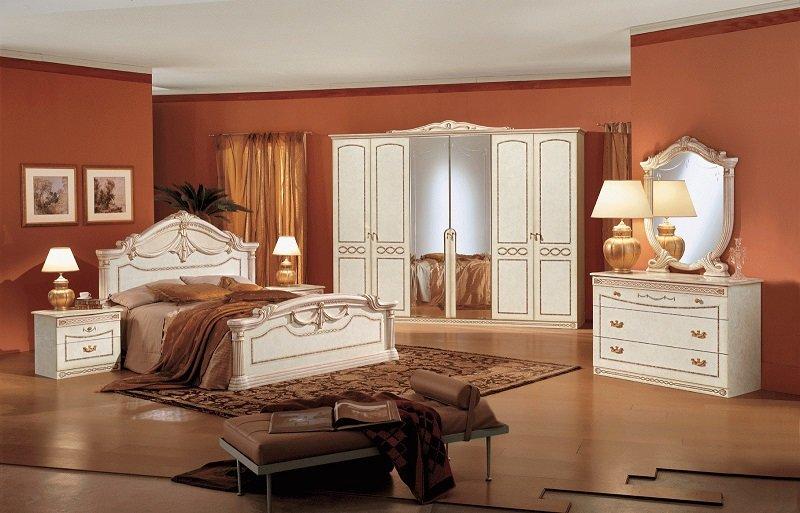 Классический дизайн спальни - сочетание античности и современности.