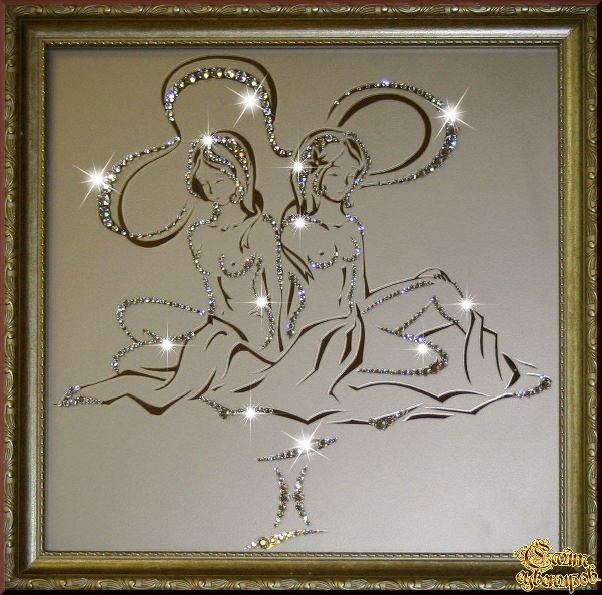 Картина со знаком зодиака своими руками