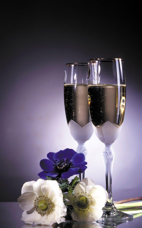 Шампанское бокалы картинки с анимацией