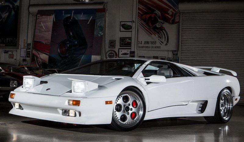 Суперкар Lamborghini Diablo 1992 года