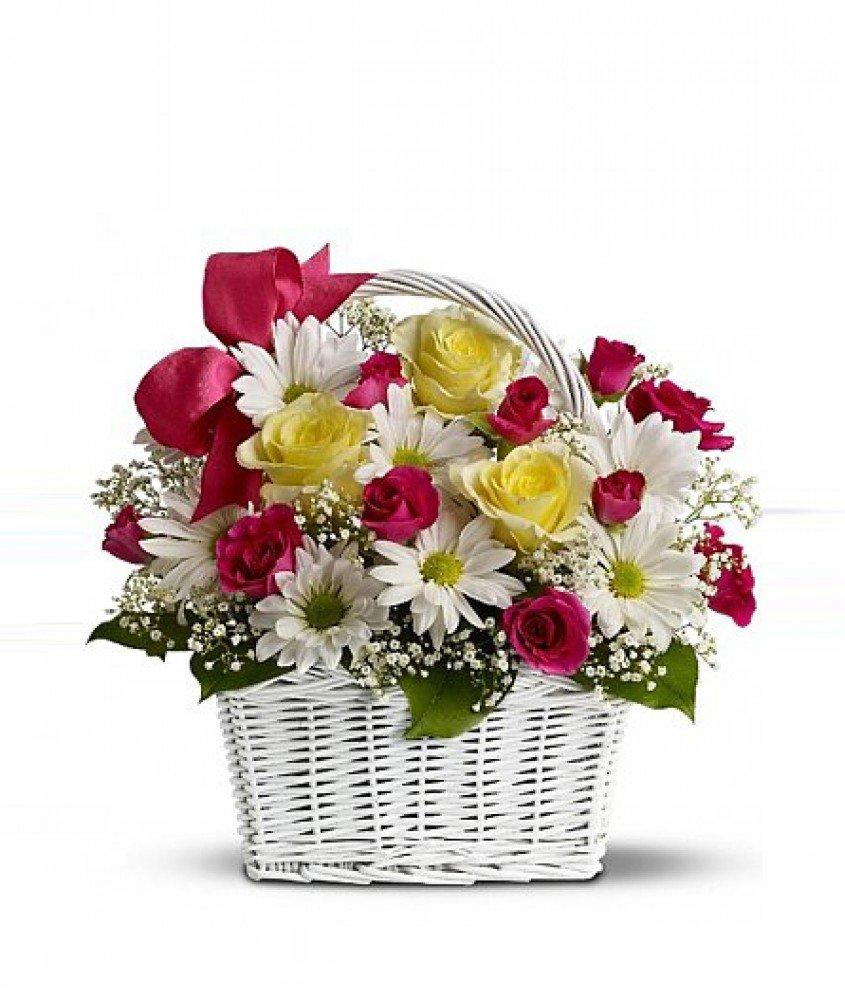 Новые, открытки корзина цветов для тебя