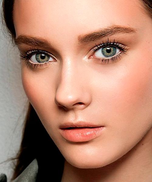 серо зеленые глаза фото женские способ мозаичного