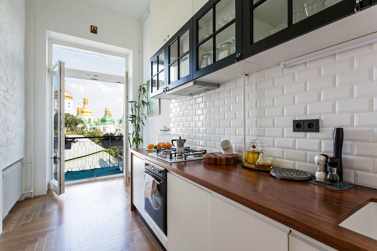 """Светлая кухня с выходом на балкон"""" - карточка пользователя z."""