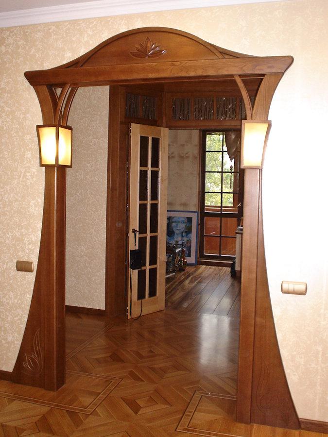 арка портал из гипсокартона