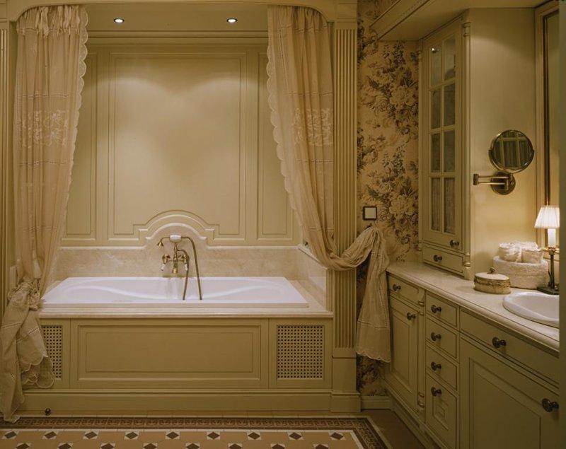 Стили дизайна интерьера ванной