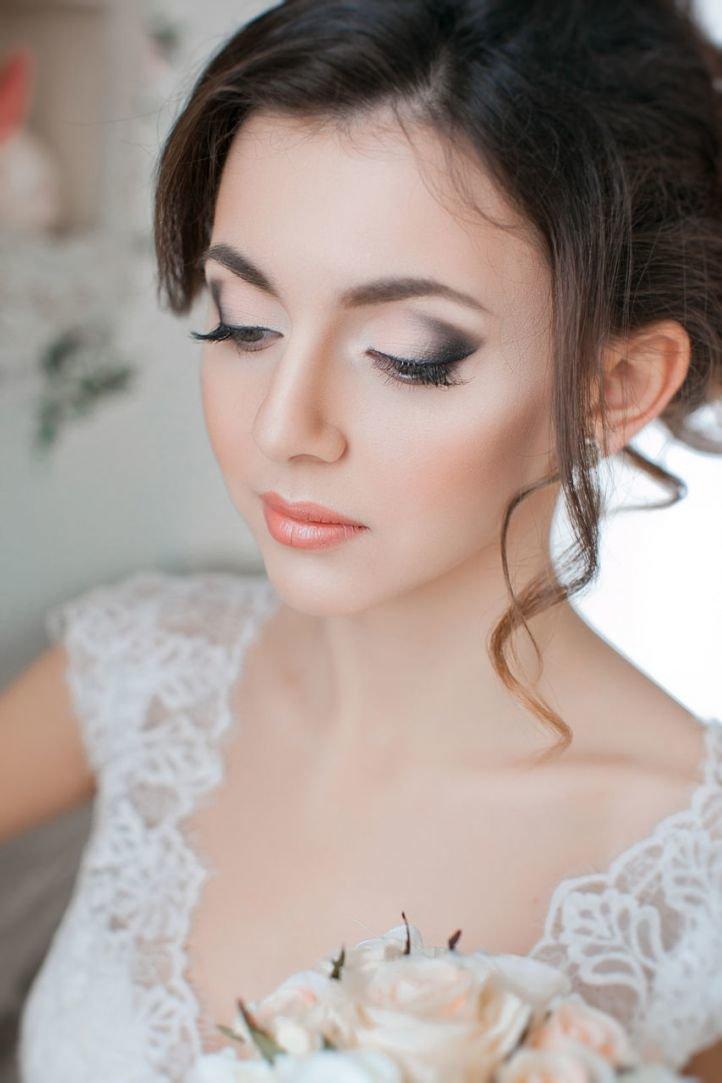 Свадебный образ невесты 2017 макияж и прическа