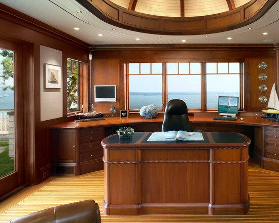 Правильно подобранное освещение кабинета будет способствовать эффективному труду.