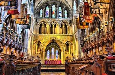 собор святого патрика ирландия внутри