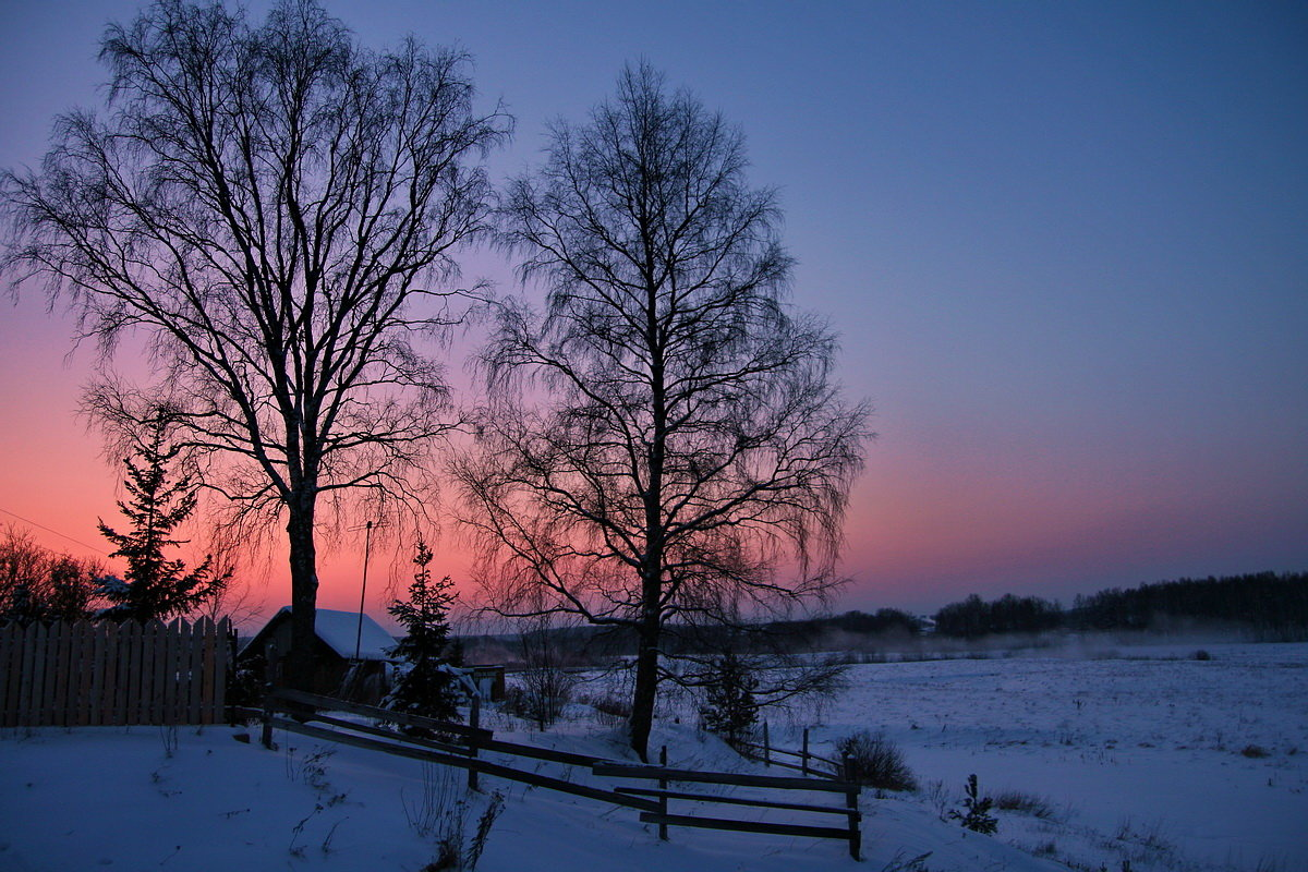 Хомячков прикол, картинки зимнего вечера в деревне