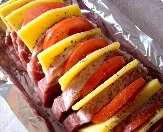 Мясо фольге духовке рецепт фото