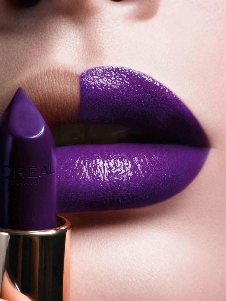 займёт вас фиолетовый цвет помады фото каталог