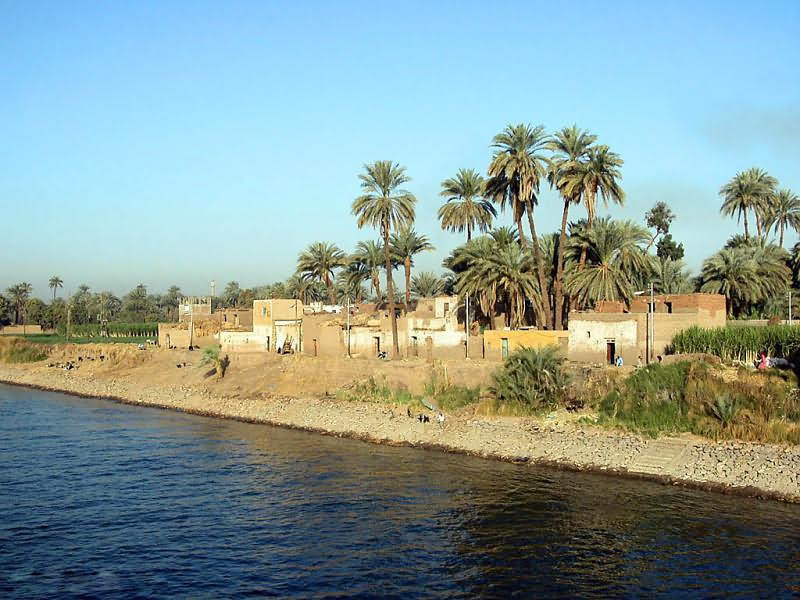 the nile river as the life of ancient egypt