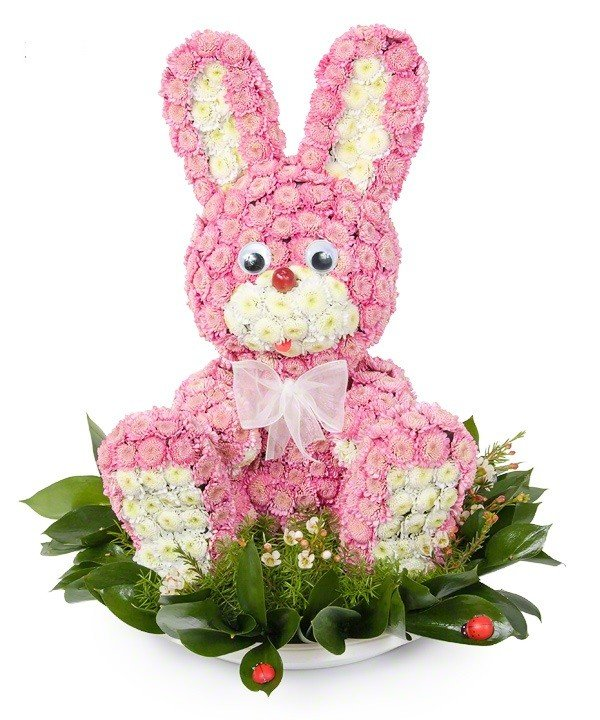 Букет тюльпаны, букеты в виде фигурок животных