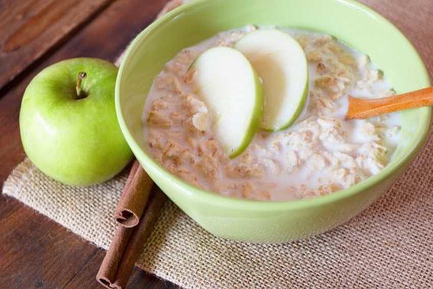 Яблочная диета рис