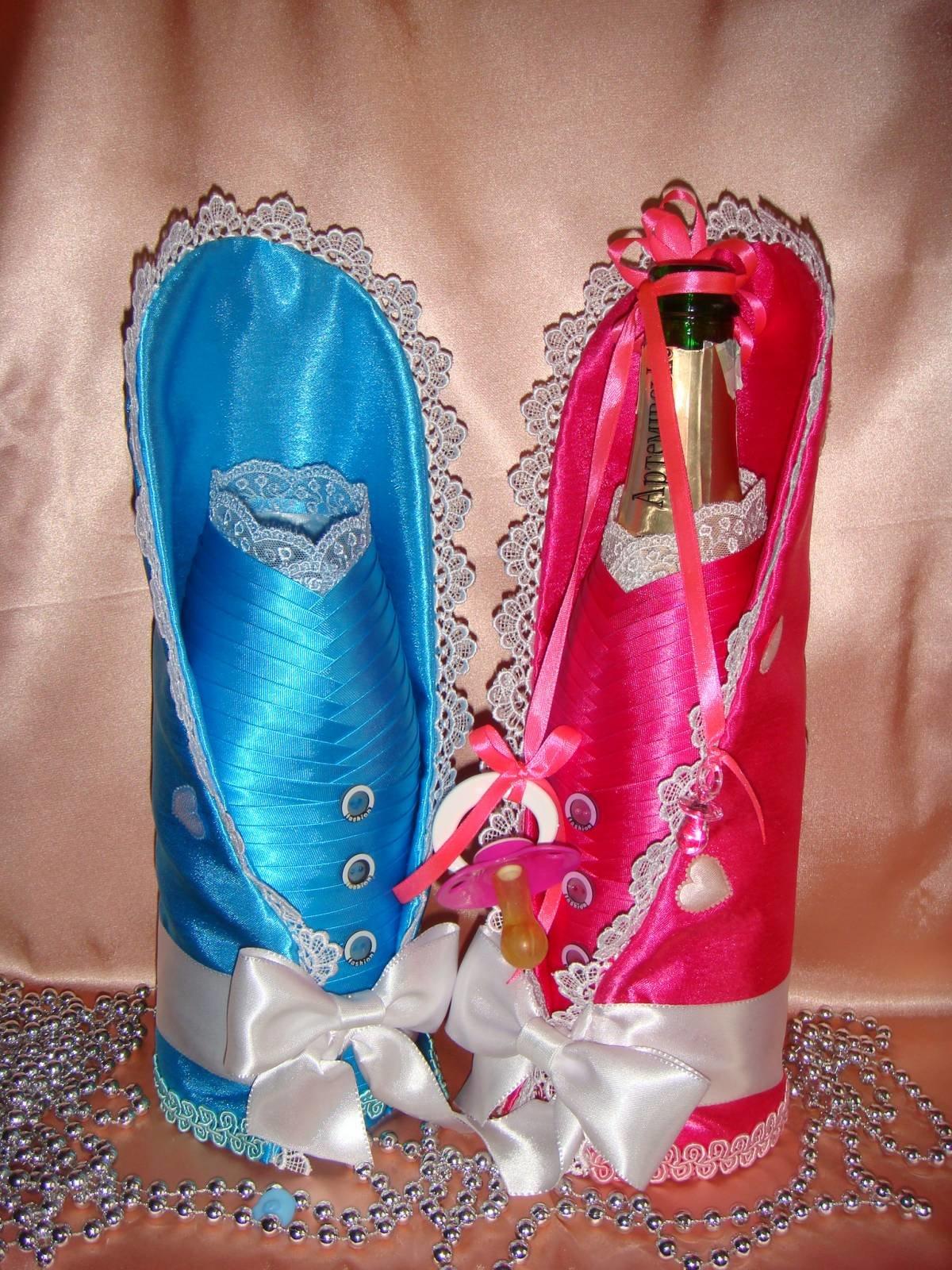бутылка шампанского на крестины ПОСУДА АРТПЛАСТ (ПОС)