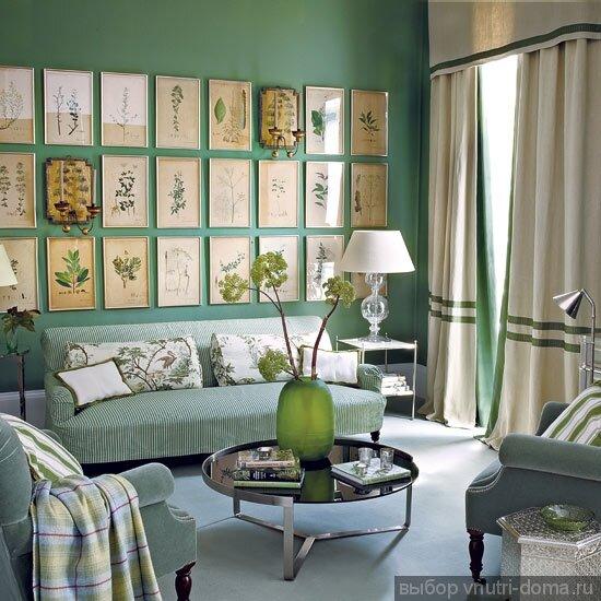 Картины и постеры с цветами, фото Homes & Gardens