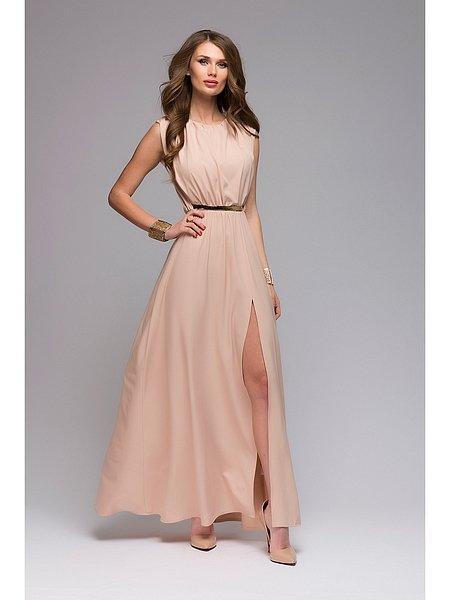 Легкое вечернее платье шифон