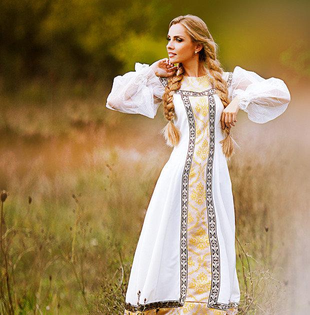 русская красавица фото