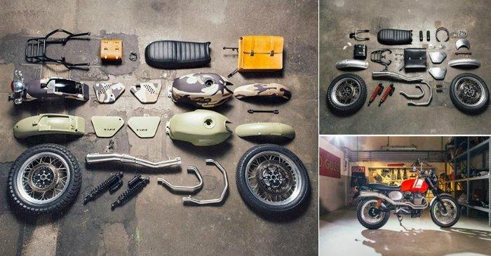 У любителей мотоциклов появилась уникальная возможность собственными руками, но на профессиональном уровне создать уникальный байк по своему вкусу. Это стало возможным благодаря наборам а-ля «сделай сам» для кастомизации мотоциклов известной итальянской марки.