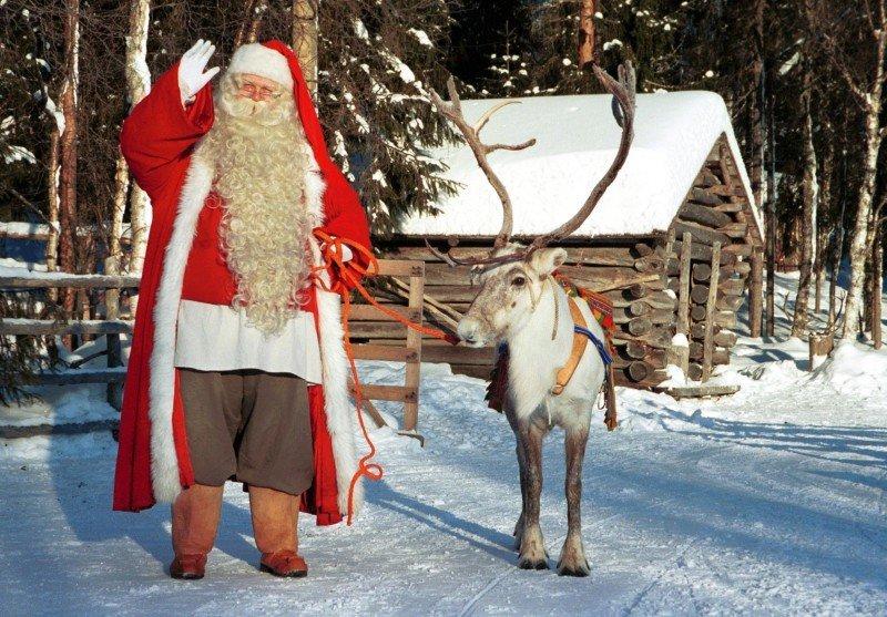 Финский дед мороз йоулупукки картинки для детей