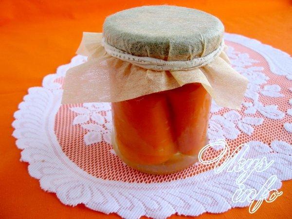 заготовки на зиму морковь маринованная