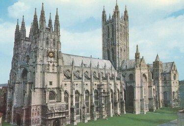 собор в кентербери англия