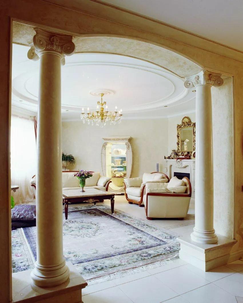 особенно комнаты с колоннами картинки идеи французского маникюра