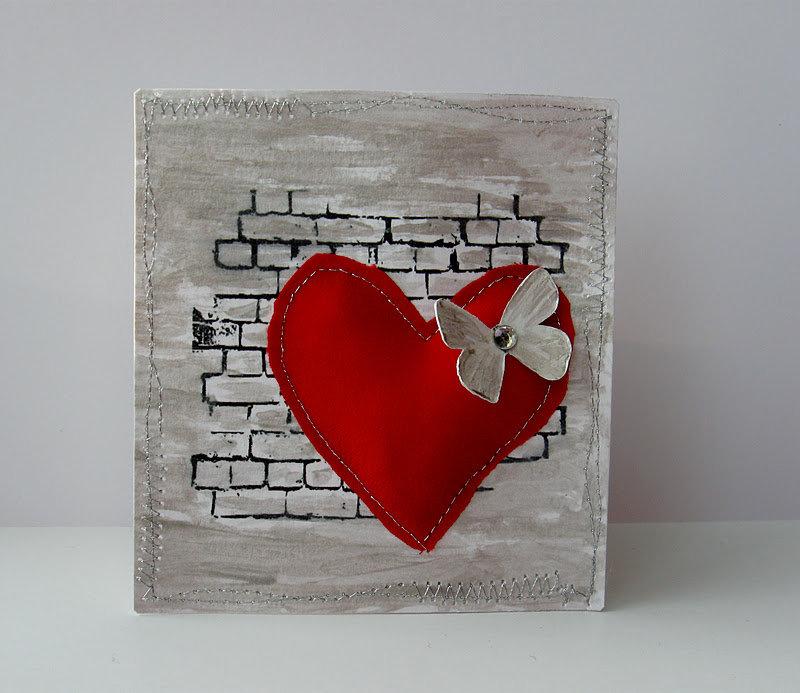 Романтические открытки своими