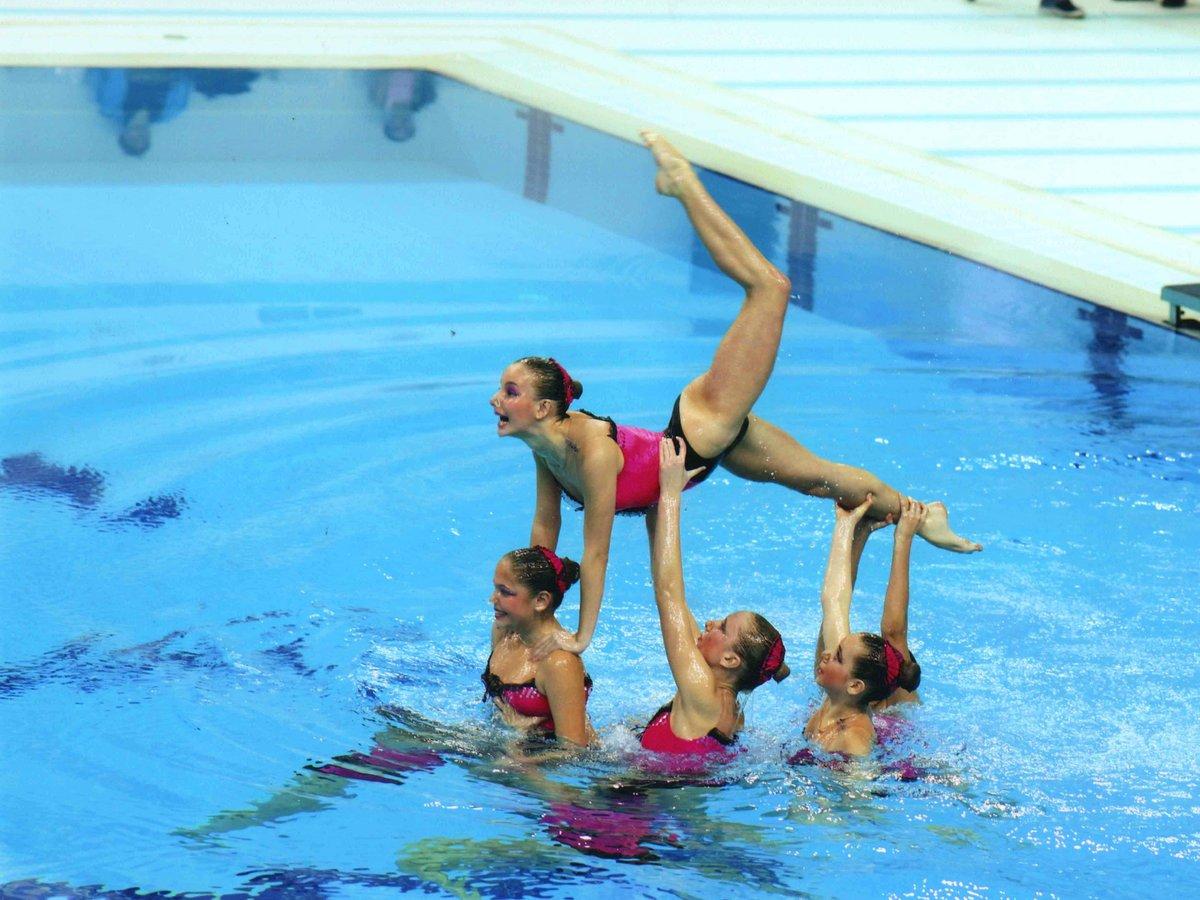 реальном картинки синхронного плавания ней