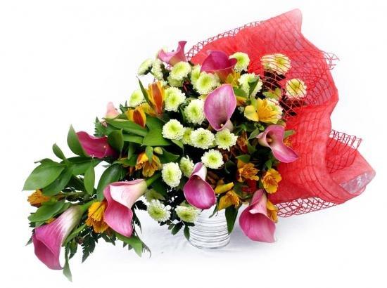 Цветы на 55 лет фото