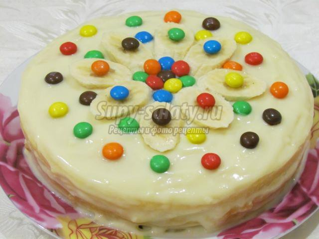 торт лёгкие рецепты с фото